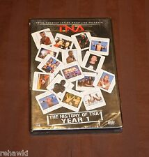TNA Wrestling - The History of TNA - 1 Year (DVD, 2007) BRAND NEW WWE ROH