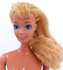 Superstar Era Blonde Nude Barbie Tnt Doll For Ooak Repaint Reroot Straight Arm