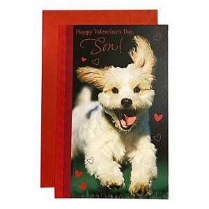 Valentine's Day Greeting Card for Son - Happy Valentine's Day, Son!; Dog, Heart