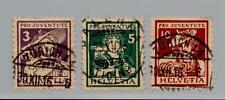 SVIZZERA - 1916 - Pro Juventute. Costumi cantonali