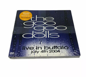 The Goo Goo Dolls Live In Buffalo July 4th 2004 Audio CD + DVD Discs   NEW