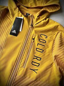 adidas Men's COLD.RDY Training Legacy Gold  Men's Hoodie Size Medium BNWT