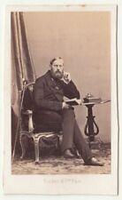 Disderi CdV Foto feiner Herr um 1865/70 Paris (F2517
