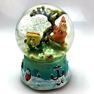 """SpongeBob and Patrick 5"""" Musical Snow Globe 