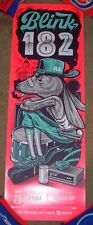 BLINK 182 concert gig poster print TALLAHASEE 5-3-17 2017 Travis Price