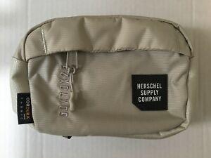 Herschel Supply Co Fanny Pack Cross Body Belt Bag Light Grey