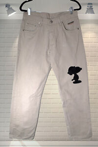 Fabulous ICEBERG History SNOOPY Designer Mens Jeans - Size 32/32