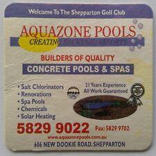 Aquazone Pools & Spas 606 New Dookie Rd Shepparton Golf Club Coaster (B329-11)