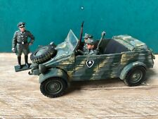 Airfix Or Similar: German Armored Car & Officer, 1940. Post War