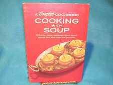 A Campbell Cookbook Cooking with Soup Ringed Cookbook 680 Recipes 1960's