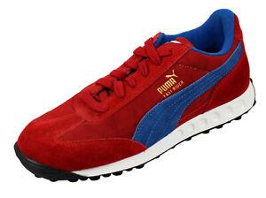 Puma Sneaker EASY RIDER CN 341345 02 Sportschuhe Wildleder Rot Blau