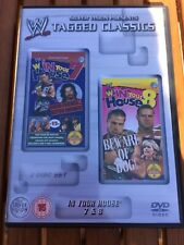 WWE Tagged Classics - In Your House 7 & 8 DVD WWF RARE