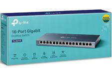 TP-Link TL-SG116 16 Port Gigabit Desktop Ethernet Network Switch 10/100/1000Mbps