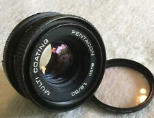 PENTACON AUTO 50mm 1:1.8 50mm 1:1.8 FAST PRIME LENS M42 MOUNT in GOOD CONDITION