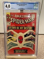 Amazing Spider-Man 31 CGC 4.0 White pages