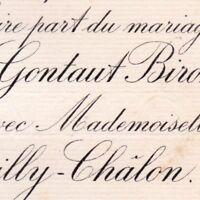 Stanislas Charles Bertrand De Gontaut-Biron Paris 1883 De Mailly-Châlon