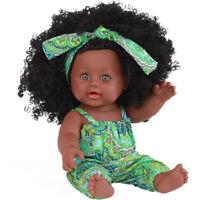 Hot Sale Black Dolls African American Girl Dolls Lifelike 12 inch Fashion Play