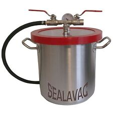 SEALAVAC Vacuum Degassing Chamber, Stainless Steel, Silicones, Resins