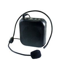LN_ New Portable Wired Microphone Voice Amplifier Audio Speaker Teaching Louds