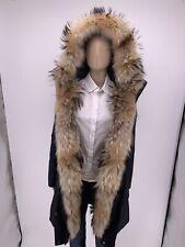 Neu Luxury Original WOOLRICH Damen Daunen Parka  Jacke 3in1 Echtfell/Pelz Gr-XS