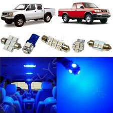 8x Blue LED lights interior package kit fits 1999-2004 Nissan Frontier NF2B
