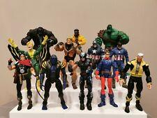 Marvel Legends Loose Figures - Toy Biz/ Hasbro Banshee, Beast, Asgardian, Bucky