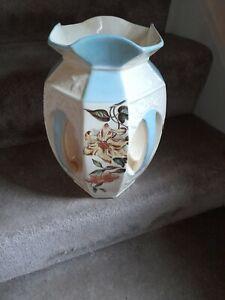 Vintage flower vase pottery