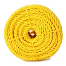 """Rope Products 15013 3/8""""x 50 foot yellow poly rope"""