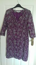Boden ~ Purple Grey Cord / Needlecord Dress ~ Size 10 R