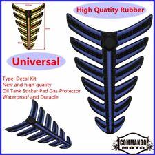 Waterproof Durable Motorbike Rubber Oil Tank Sticker Pad Gas Protector Universal
