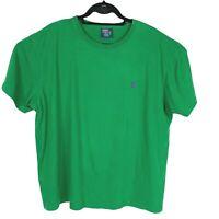 Polo Ralph Lauren Soft Cotton Tshirt Green Pony Short Sleeve Mens Size XL XLarge
