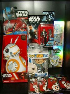Star Wars Figures and Toys Bundle New and Sealed