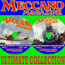 Complete Meccano Magazine Collection 2 X DVDs Every Edition Issued
