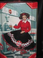 COCA-COLA Soda Fountain Barbie Doll 2000 COLLECTOR EDITION 2ND in Series NRFB