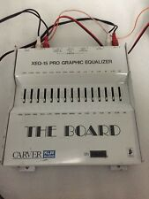 "Carver ""The Board"" XEQ-15 band professional car equalizer old school"