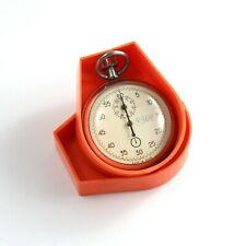boxed AGAT STOPWATCH vintage Soviet stop watch USSR 0.2sec / 60sec / 30min