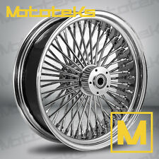 FAT SPOKE WHEEL 18X4.25 REAR FOR HARLEY SOFTAIL FATBOY SLIM DELUXE HERITAGE NEW