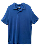 32 DEGREES Cool Mens Polo Shirt Short Sleeve Blue Size XL Lightweight Activewear
