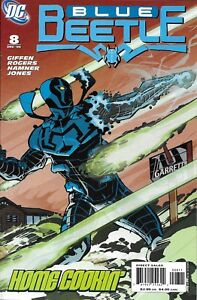 Blue Beetle Comic 8 Cover A First Print 2006 Keith Giffen Rogers Hamner Jones DC