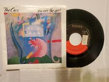 "THE CARS 7"" 45 RPM - ""You Are the Girl"" & ""Ta Ta Wayo Wayo"" w/pic sleeve VG+"