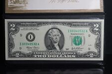 United States Monetary Exchange 2003 $2 Two Dollars Note - 2