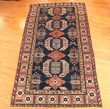 Antique Caucasian Kazak Oriental Rug 6x11ft