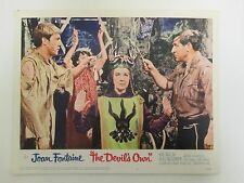 """THE DEVIL'S OWN aka WITCHES 1967 Lobby Card 11x14"""" Movie Poster / Joan Fontaine"""
