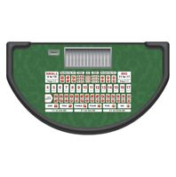 Monaco - Sic Bo Table Layout - GREEN