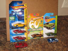 Hot Wheels Nice Lot of 7 1969 Ford '69 Mustang Variation Decades 2007 New Models