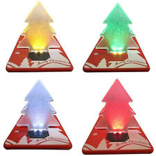 Fancy Mini Colorful Christmas Tree LED Light Party Decorative Xmas Decor Gift