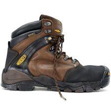 "Keen Mens Louisville 6"" WP Steel Toe Work Safety Boots Size US 10.5 D EU 44"