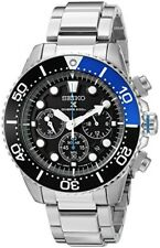 SEIKO Watch Solar Chronograph Calendar 200m Waterproof Diver SSC017 from JAPAN