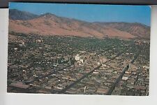 Chrome Air View of Salt Lake City Utah