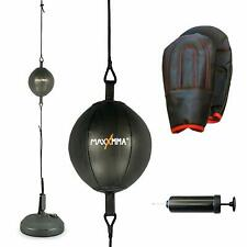 Double End Striking Punching Bag Kit to Develop Speed Timing and Accuracy